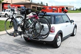 MINI Cooper Repair MINI Cooper Bike Rack and Hitch Install