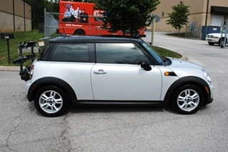 MINI Cooper Bike Rack and Hitch Install