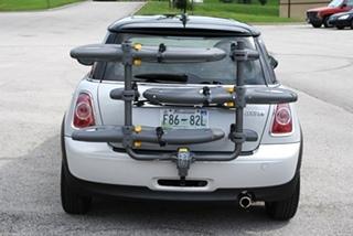 MINI Cooper Bike Rack and Hitch Install