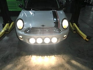MINI Cooper Repair MINI Cooper Fog Lights