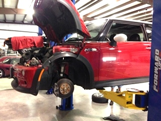 MINI Cooper Repair  MINI Cooper Cold Air Intake and Super Charger Pulley Upgrade