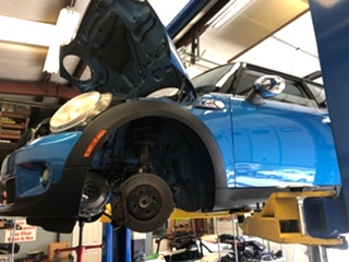 MINI Cooper Clutch and Flywheel Repair
